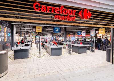 Ny Carrefour på rekordtid