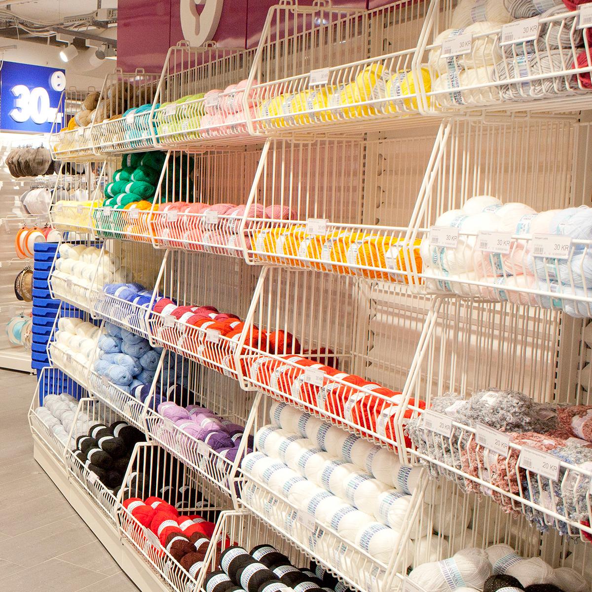 Dollarstore Grønland tekstilavdeling