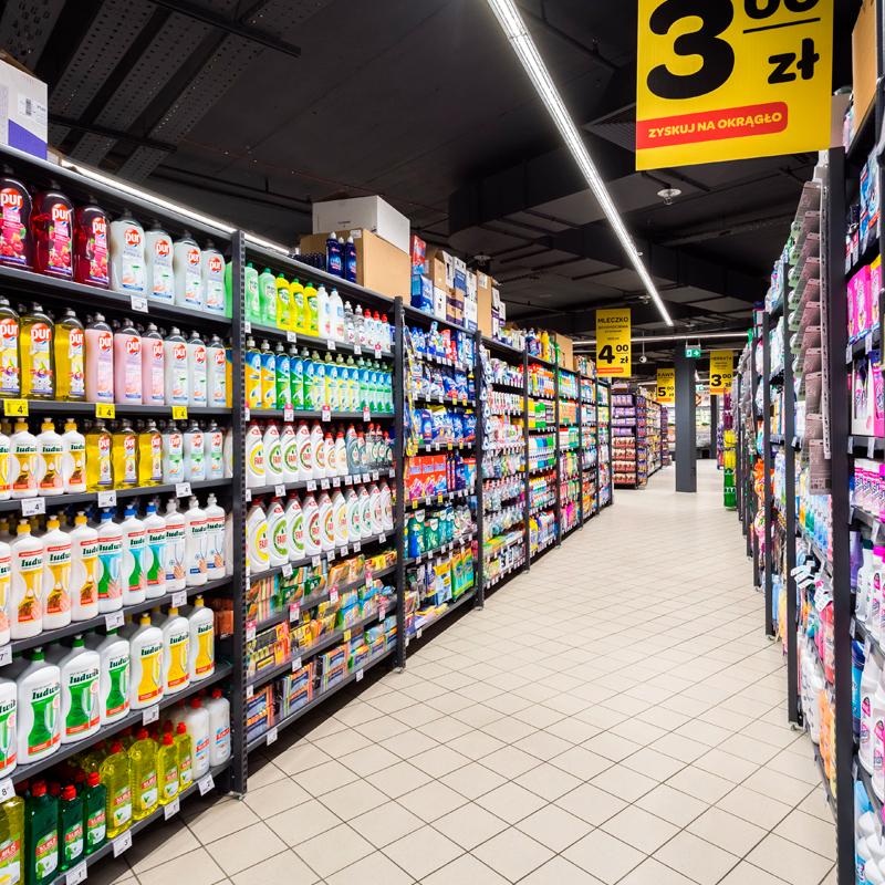 Butikkinnredning Carrefour Market