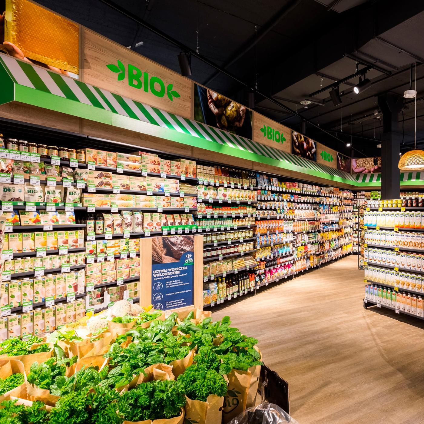 Økologiske produkter Carrefour Market