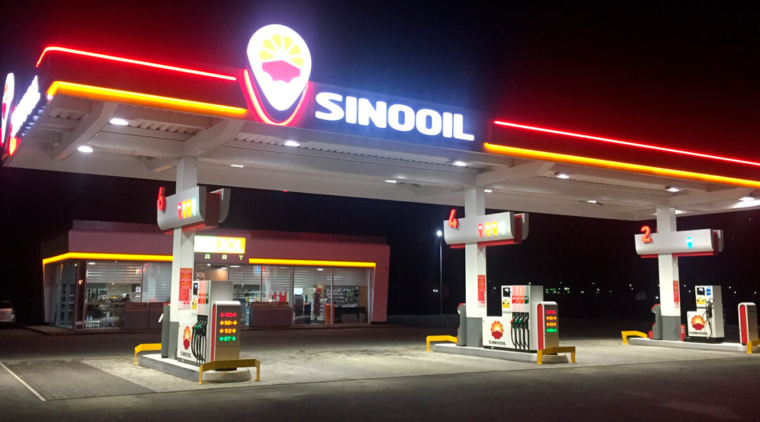 Sinooil fullservice bensinstasjoner